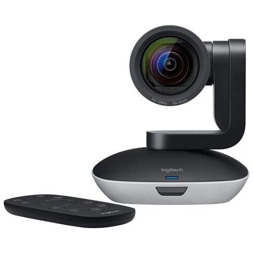 Веб-камера Logitech PTZ Pro 2 черный