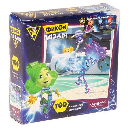 Купить Пазл Origami Фиксики Ток Файера (03612), 100 дет., Пазлы