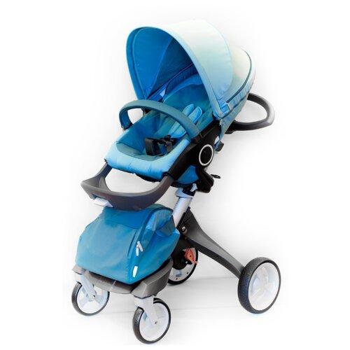 Универсальная коляска everflo Dsland 180202 (2 в 1) blue