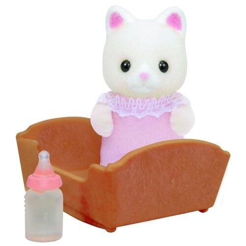 Купить Игровой набор Sylvanian Families Малыш котёнок 3417/5066, Игровые наборы и фигурки