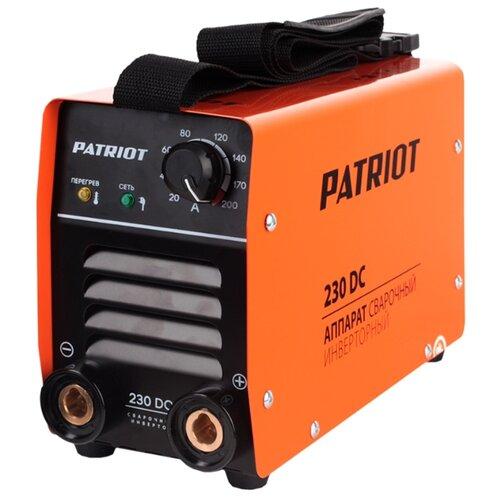 цена на Сварочный аппарат PATRIOT 230 DC (MMA)