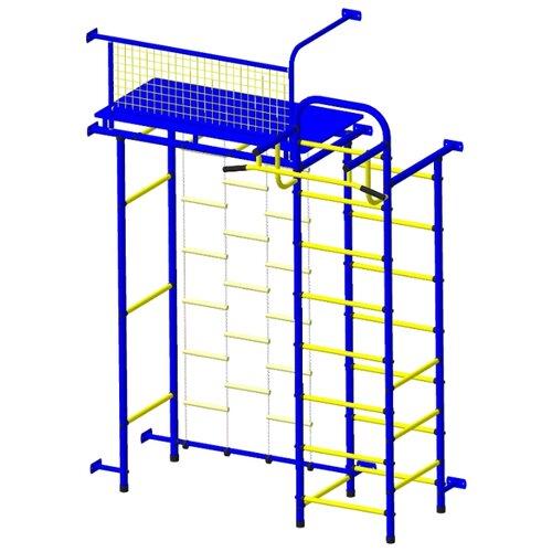 Купить Спортивно-игровой комплекс Пионер 10Л синий/желтый, Игровые и спортивные комплексы и горки