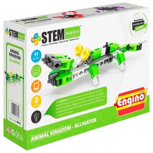 Купить Конструктор ENGINO STEM Heroes SH13 Мир животных - Аллигатор, Конструкторы