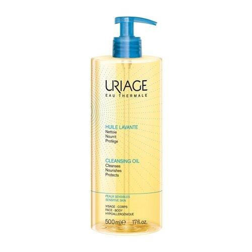 Uriage масло очищающее пенящееся, 500 мл мыло uriage