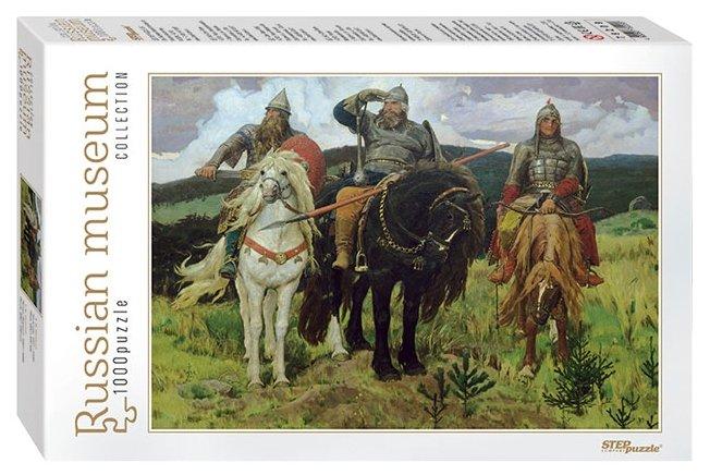 Пазл Step puzzle Русские музеи Богатыри (79209), 1000 дет.