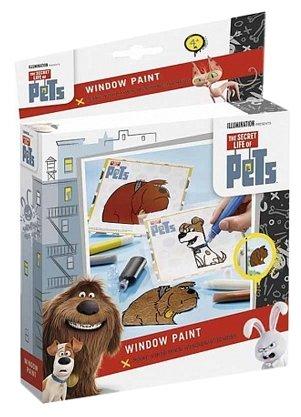Набор для творчества Totum Тайная жизнь домашних животных 760004 5 цв.