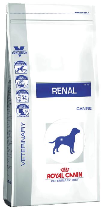 Корм для собак Royal Canin Renal RF14 при заболеваниях почек 7 кг