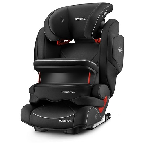 Автокресло группа 1/2/3 (9-36 кг) Recaro Monza Nova IS Seatfix, Performance Black автокресло группа 1 2 3 9 36 кг recaro young sport hero carbon black