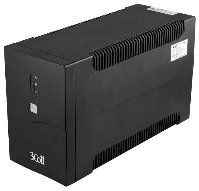 Интерактивный ИБП 3Cott 2200-OFC