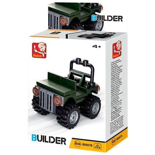 Купить Конструктор SLUBAN Builder M38-B0597B Джип, Конструкторы