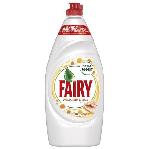 Fairy Средство для мытья посуды Ромашка и витамин Е 0.9 лДля мытья посуды<br>