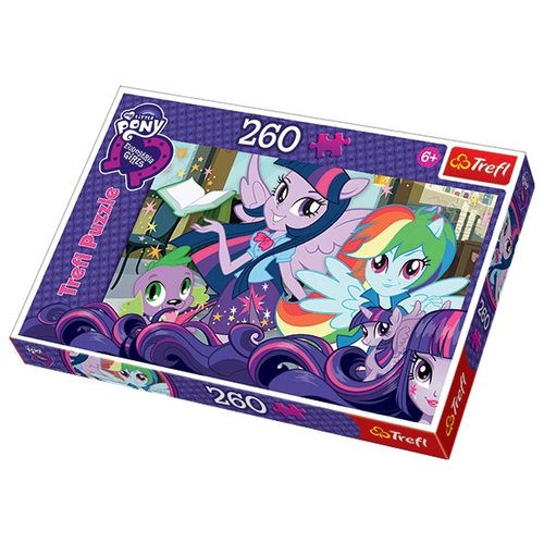 Пазл Trefl My Little Pony - Лучшие подруги навсегда (13191), 260 дет. пазл 260 эл санторо little song