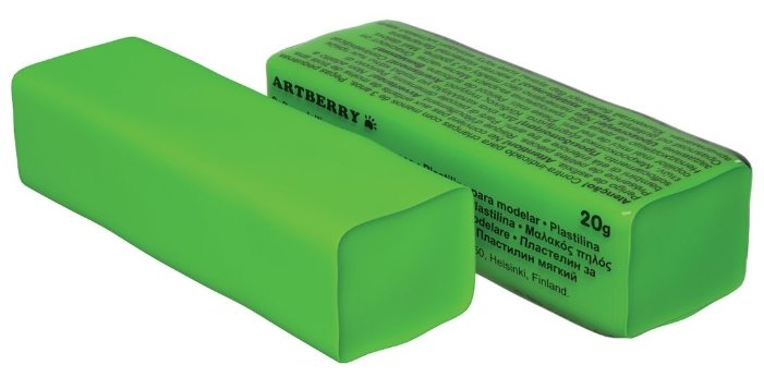 Пластилин ErichKrause Artberry зеленый 20 г (37283)