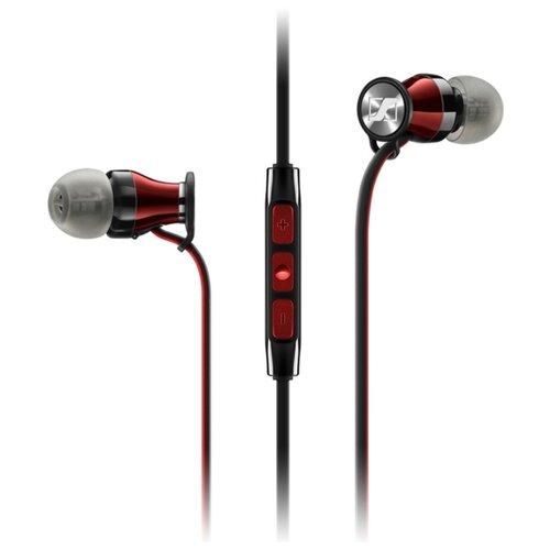 цена на Наушники Sennheiser Momentum 2.0 In-Ear (M2 IEi) черный/красный