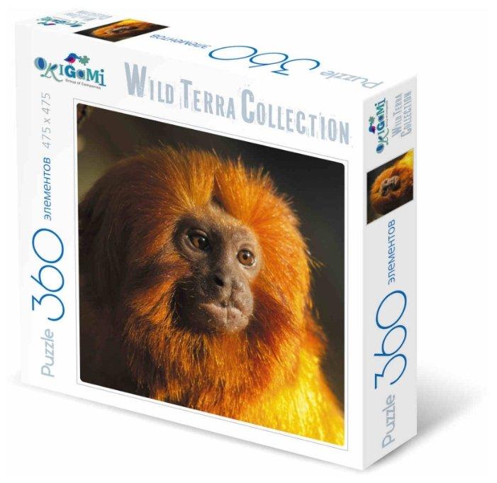 Пазл Origami Wild Terra Collection Огненная обезьяна (01893), 360 дет.