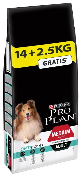 Корм для собак Purina Pro Plan Medium Adult сanine Sensitive Digestion Lamb and rice dry