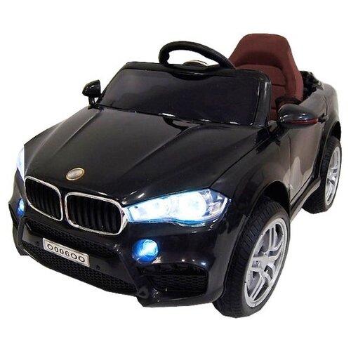 RiverToys Автомобиль BMW O006OO, черный, Электромобили  - купить со скидкой