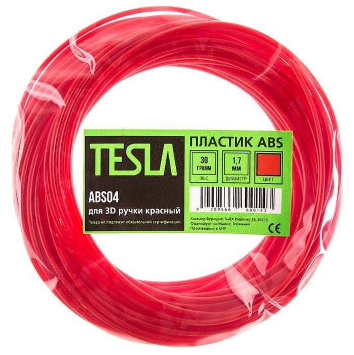 ABS пруток TESLA 1.70 мм красный