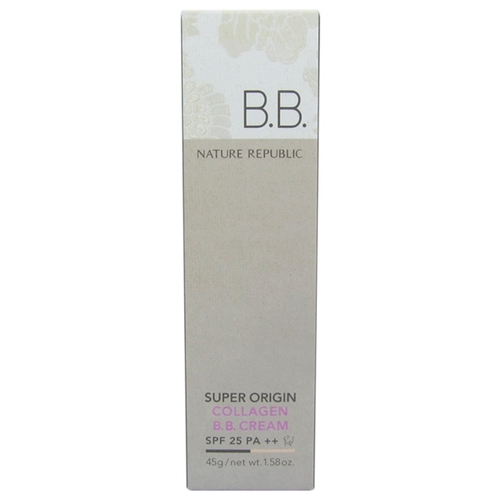 NATURE REPUBLIC Super Origin BB крем Collagen SPF25 45 гр