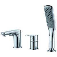 Однорычажный смеситель для ванны с душем D&K DA1394941