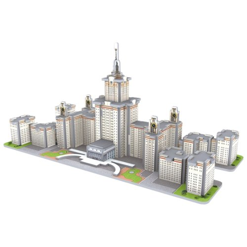 3D-пазл CubicFun Московский Государственный Университет (S3036), 60 дет.Пазлы<br>