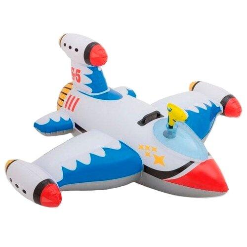Купить Надувной самолет с водяным пистолетом INTEX 56539 красный/голубой/желтый, Надувные игрушки