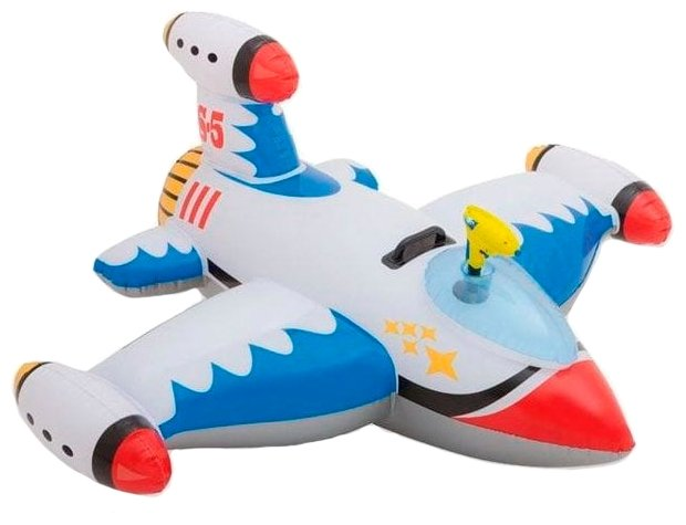 Надувной самолет с водяным пистолетом INTEX 56539
