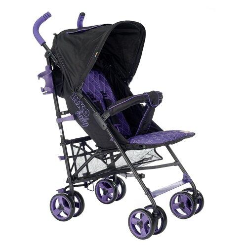 Купить Прогулочная коляска Liko Baby B-319 Easy Travel фиолетовый/черный, Коляски