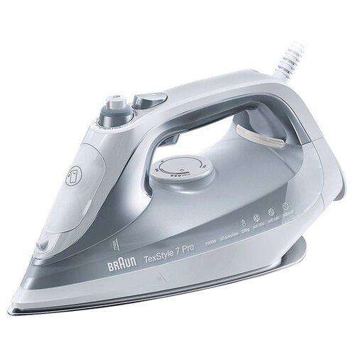Утюг Braun SI 7088 серый/белый утюг braun si 7088 gy
