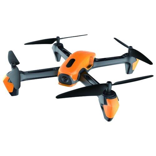 цена на Квадрокоптер 1 TOY Gyro-Hawk Eye Т10800 черный/оранжевый