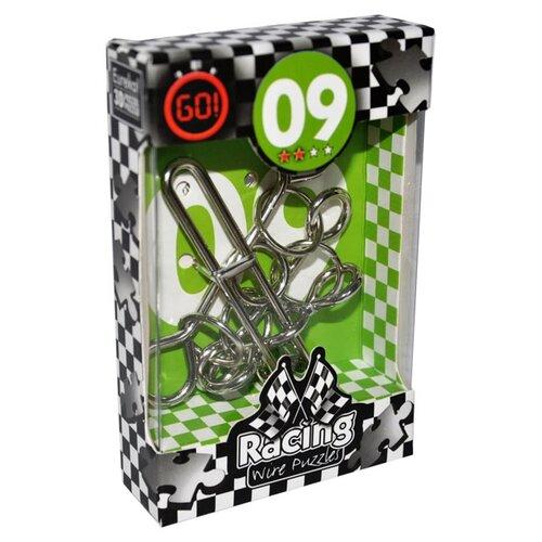 Купить Головоломка Eureka 3D Puzzle Racing Wire Puzzles 9 сложность 2 (473279) серый, Головоломки