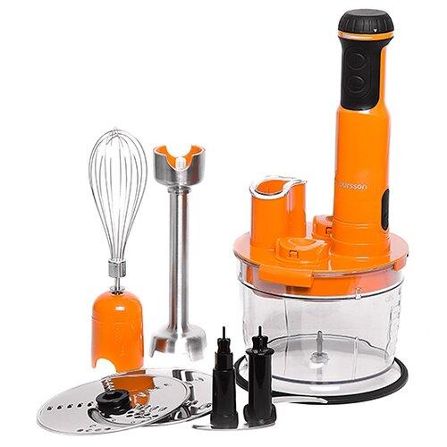 Фото - Погружной блендер Oursson HB6040/OR, оранжевый блендер погружной oursson hb6040 sp