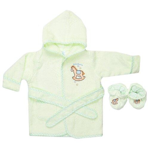 Комплект одежды Spasilk размер 0-9, зеленый, Комплекты  - купить со скидкой