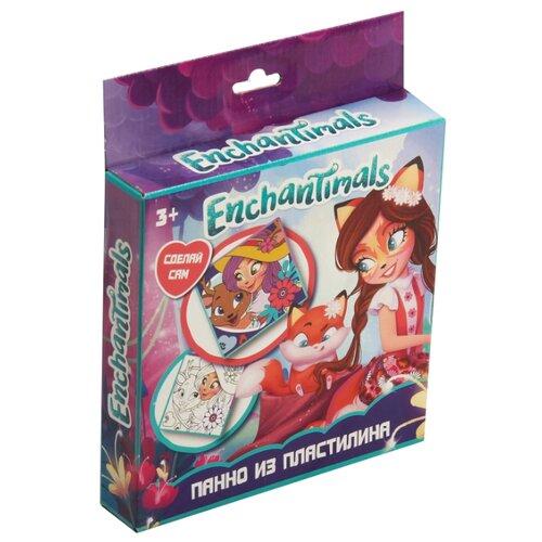 Купить Пластилин CENTRUM Панно Enchantimals (88677), Пластилин и масса для лепки