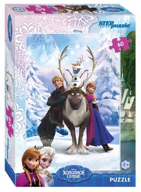 Пазл Step puzzle Disney Холодное сердце (81126), 60 дет.