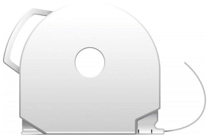 PLA пруток 3D Systems CubePro 1.75 мм серебряный