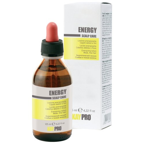 KayPro Energy Scalp Care Лосьон для волос и кожи головы против выпадения, 125 мл nook лосьон против выпадения волос для чувствительной кожи 12 7 мл