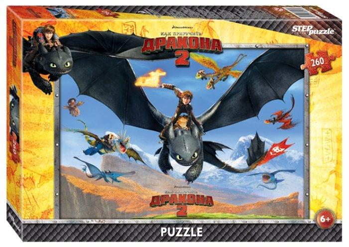 Пазл Step puzzle DreamWorks Драконы (95030), 260 дет.