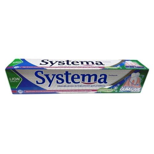 Зубная паста Lion Systema Прохладная Ледяная мята, 160 г