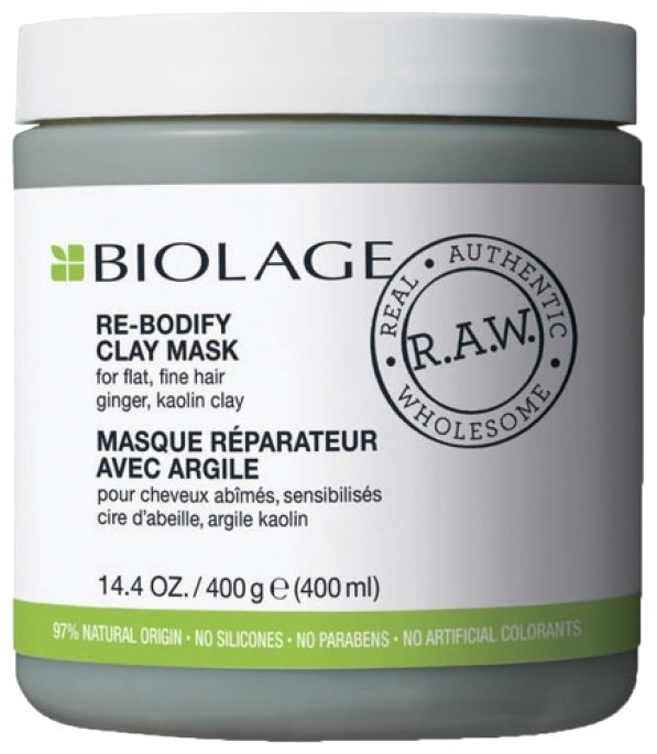 Biolage Маска-детокс для тонких волос Re-Bodify R.A.W.