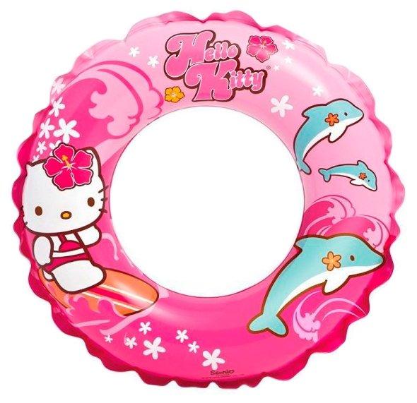 Надувной круг Intex Hello Kitty Sanrio 56200