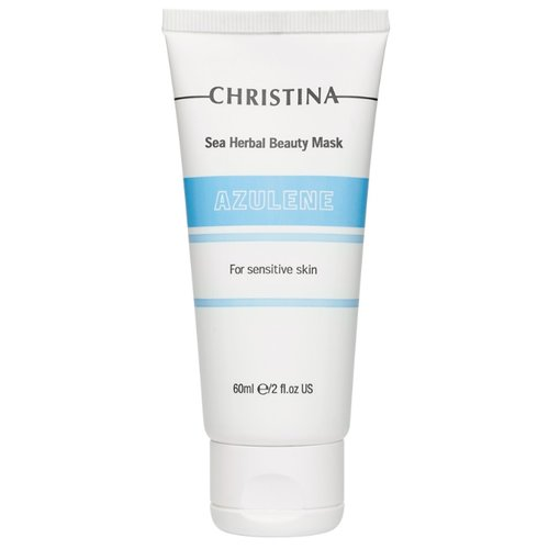 Christina Sea Herbal маска красоты Азулен, 60 мл christina sea herbal маска красоты яблоко 250 мл
