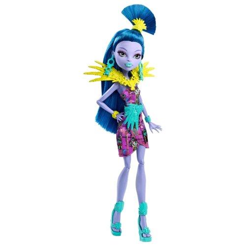 Кукла Monster High Монстры в отпуске Джейн Булитл, 27 см, DKX99 little you мягкая кукла джейн