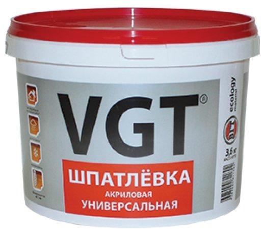 Шпатлевка VGT акриловая универсальная