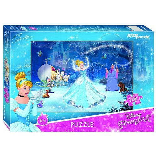 Купить Пазл Step puzzle Disney Золушка - 2 (95064), 260 дет., Пазлы