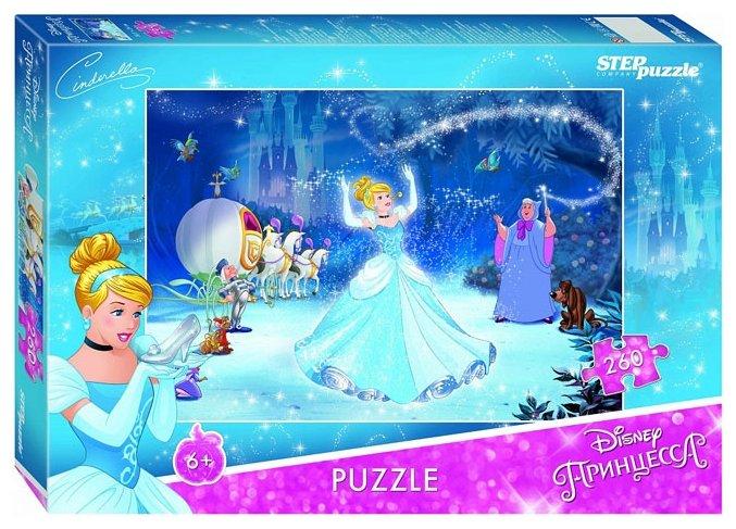 Пазл Step puzzle Disney Золушка - 2 (95064), 260 дет.