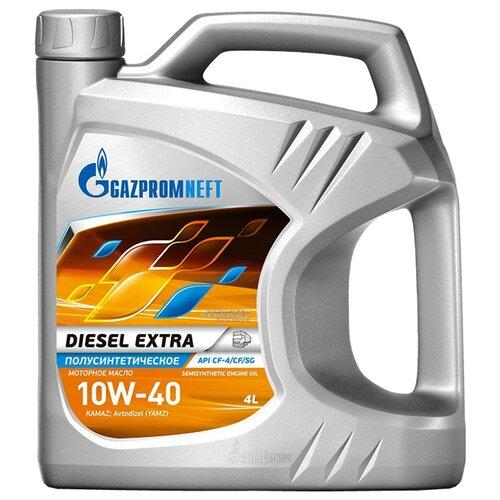 Моторное масло Газпромнефть Diesel Extra 10W-40 4 л