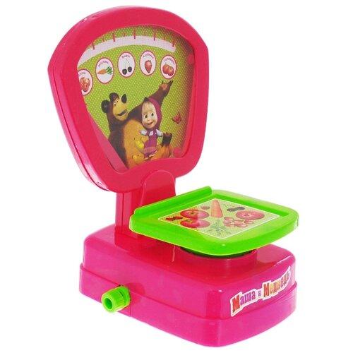 Весы Играем вместе Маша и Медведь (B88306-R), Играем в магазин  - купить со скидкой