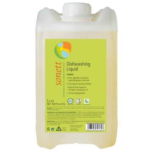 Sonett Средство для мытья посуды Лимон 5 л сменный блок