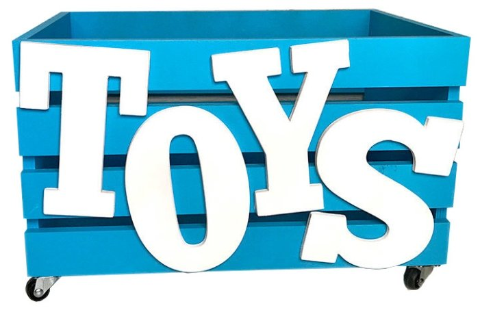 Ящик MyStoryHome Toys 45х30х25 см